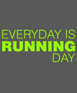 Camiseta-Masculina-Cor-Cinza-Mesclado-EVERYDAY-IS-RUNNING-DAY-Estampa